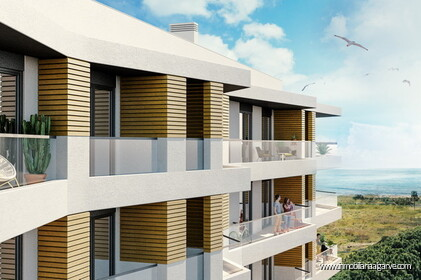 Apartamentos con vistas al mar en venta en Quarteira The5
