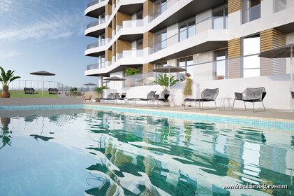 Apartamentos con vistas al mar en venta en Quarteira The5 - 22856