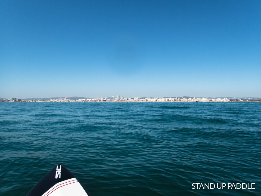 Stand up paddle en Quarteira