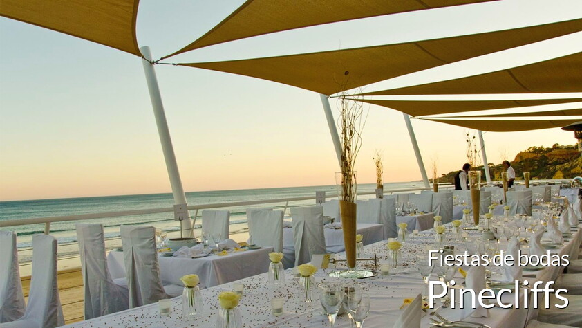 Fiestas de bodas en resort Pinecliffs