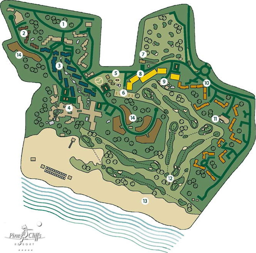 Pinecliffs masterplan mapa