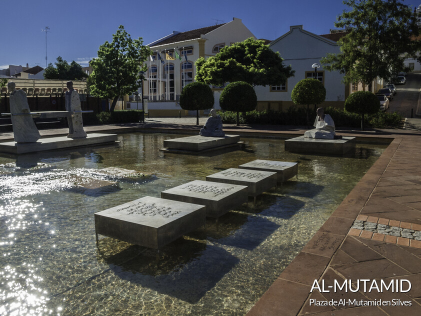 Plaza de Al-Mutamid en Silves