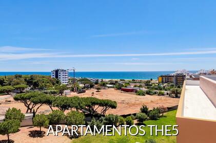 THE5 - Apartamentos con vistas al mar en Quarteira